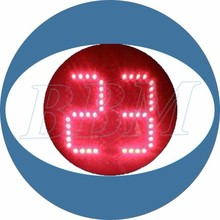 UV-stabilized PC cover countdown timer screen signage