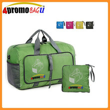 Durable and Waterproof lightweigh nylon foldable duffle travel bag