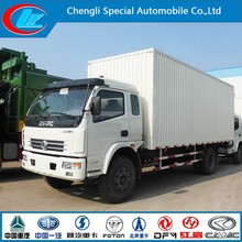 Mini van lorry Dongfeng 4x2 cargo van Chinese famous van cargo lorry lower price cargo truck price