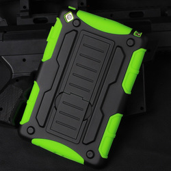 2015 Best Selling!Future Armor Impact Skin Holster Protector Cover Case for iPad Mini Mini 2 Mini 3 air