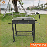 Professional High Quality Cyprus Grill with Skewers and Motors