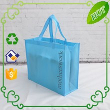 Non woven long tote bag,recycling shopping bags, large non-woven tote bag