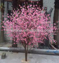 Artificiales flores de plástico/baratos de plástico macetas de flores al por mayor/de flores de plástico de flor de cerezo