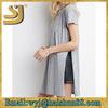 fashion longline girls style slim long line fit t-shirts