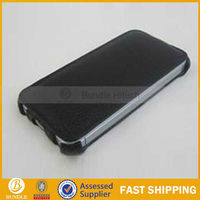 Slim Heat setting case PU leather flip smart cover for Iphone 5, direct manufacture from China