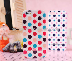 Colorful Dots Hard Plastic Case Cover for iphone 5