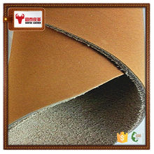 Nubuck cow split thick leather skins
