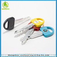 2015 top sale key shape ball pen/car key pen/promotional gift ball pen