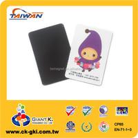 Company giveaways cute purple printed rubber souvenir magnets
