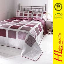 OKTEX 100 approved digital printed knitted fabrics waterproof bedspreads