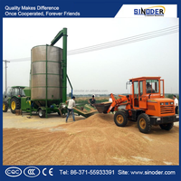 Mobile Type Circulating rice Grain mechanical Dryers, crop dryer