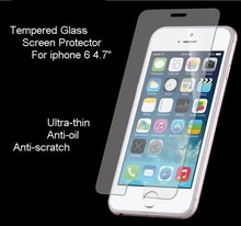 """Anti-Scratch Premium Real Tempered Glass Screen Protector 9H For iPhone 6 4.7"""""""