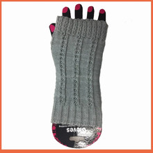 Cheapest semi fingerless gloves for women knitted fingerless gloves unisex long sleeve winter gloves for wholesale