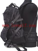 high quality designer camping and tactical outdoor shoulder bag hotsale black Canvas travelling military backpack
