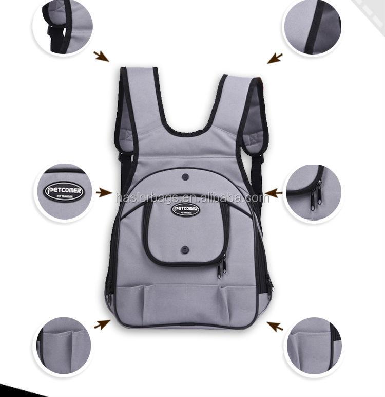 2015 hot vente belle dog transporteur backpack avec un nouveau design