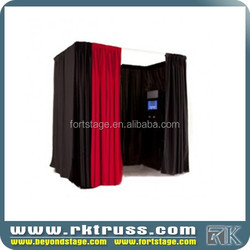 RK design portable electronic Pipe and drape kit for photo booth , Draper Screens,curtain support by wholesale suppier