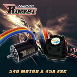 Rc car ESC 45A and motor IO 5.8A combo RC toy - 1/10th Scale 4wd Brushless Moto rPowered off-Road Buggy Booster-Pro