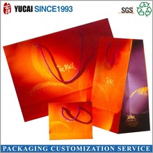 2015 hot sale gift bag 210g art paper