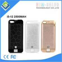 For apple iphone 5 5s external battery case charger 2200mah + stand hold + case + lcd showing the power + beautiful Rhinestone