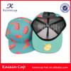 custom wholesale floral printing Flat Bill Snapback Hat