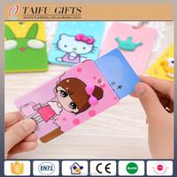 smart cute silicone soft pvc plastic key bus bank card cover