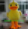 EVA plush material giant walking duck mascot costume easy wear adult duck costume
