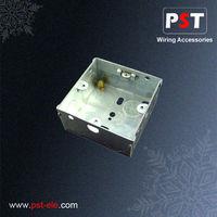 Single Gang 35mm Deep UK Switch Galvanized Steel Junction Box