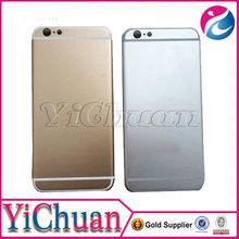 reparação bateria frame habitação porta traseira de metal de alumínio caso para o iphone novo 6