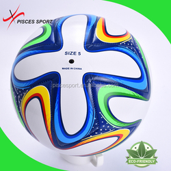 inflatable no stitch laminated soccer ball