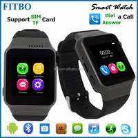 Classic Ultra-thin SIM/Vibrate/Alarm waterproof cdma watch mobile phone FTB15