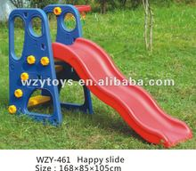 Happy Slide with basketball rims