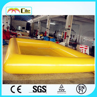 CILE 2015 Hot Selling Bright Yellow Color Inflatable Spa Pool Cover for Adult and Kids