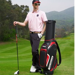 Helix Mens golf club sets / leather golf shoe bag / waterproof golf bag