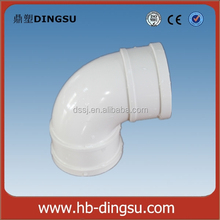 factory direct Plastic PVC elbow with Different Size