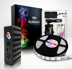 150 Multi-Color Changing LED Kit - 5M/16.4ft Flexible & Waterproof Strip, Power Supply and Remote Control [Featuring 5050 RGB Mi