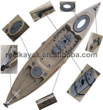New design for 2014 Eagle Angler sit on top hard plastic fishing boats cheap kayak professional kayak