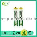 Ni-MH Ni-Cd rechargeable battery AAA1000mAh1.2V