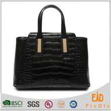 2016 latest product bags women genuine crocodile leather handbag, ladies bags handbag
