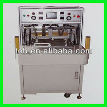 Four position rotary top-side heat sealer machine