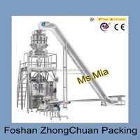 Vertical Automatic Plastic Bag Form Fill Seal 500~3000G Powder Packing Machine