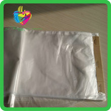 Yiwu packing wholesale pe transparent bag with dotted line