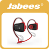 2015 Jabees super hot stylish waterproof sport headphones with dual mics