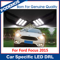 For 2015 new Ford Focus led drl led daytime running lights drl lights led daylight led neon design IP68
