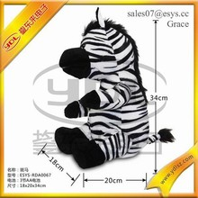 Talking and dancing electric musical plush zebra toys
