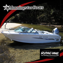 small luxury runabout boat