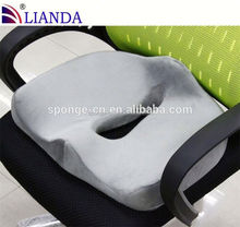 Elastic Fabric Cushion Covers Chair, Bus Dirver Gift Memory Foam Seat Cushion, Summer Office Chair Cooling Gel Seat Cushion