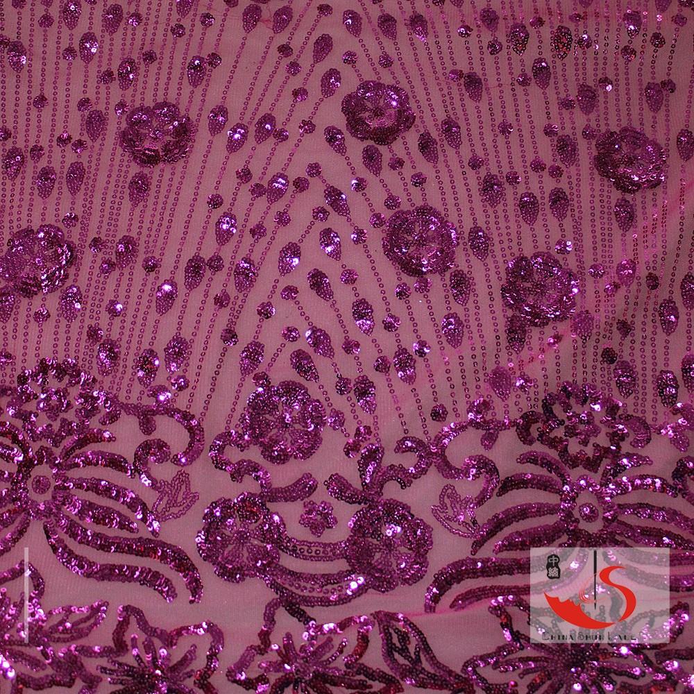 signore vestito di materiale grossisti bella ricamo paillettes voile african cavo abito da sposa in tessuto di pizzo