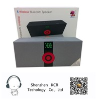 2015New wireless speaker bluetooth with LCD portable bluetooth speaker MS-288