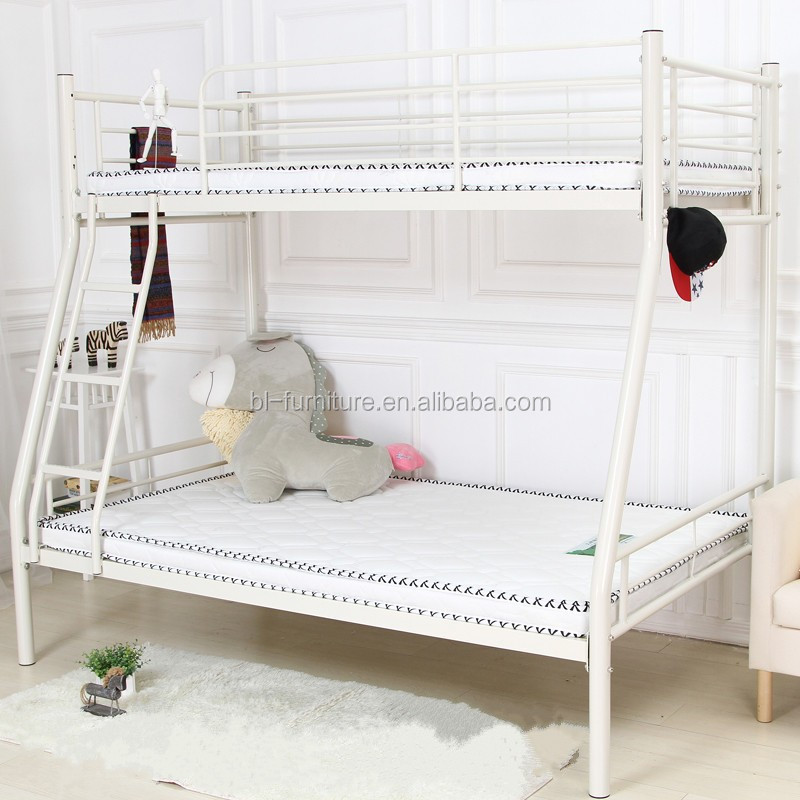 Powerful And Strong Dormitory Steel Frame Bed Cheap Metal