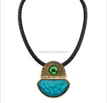 High Quality Foreign Country Loved Plate Pendant Necklace